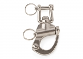Stainless Steel Snap Shackles with Clevis Pin Swivel