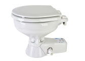 QUIET FLUSH Marine Toilet / Compact Basin / Seawater Pump