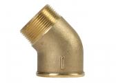 45° Brass Elbow, CR-Brass