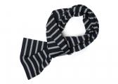 Breton scarf / blue-gray melange